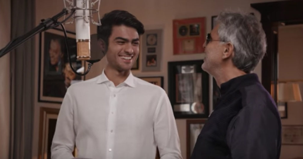Making of Andrea Bocelli and Son Matteo 'Fall On Me'