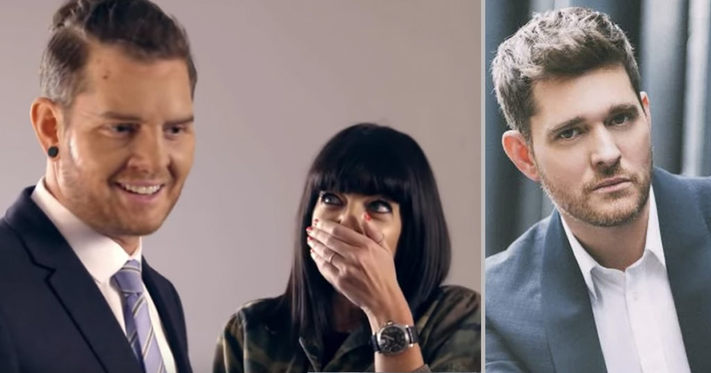 Michael Buble' Goes Undercover to Give Shoppers an Amazing Surprise