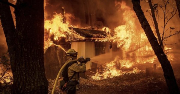 California Pastor Recalls How Church Miraculously Survived Wildfire Untouched