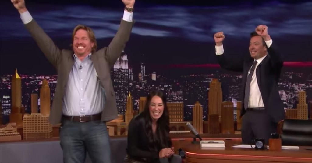 Chip And Joanna Gaines Announce Their Return To TV On Jimmy Fallon