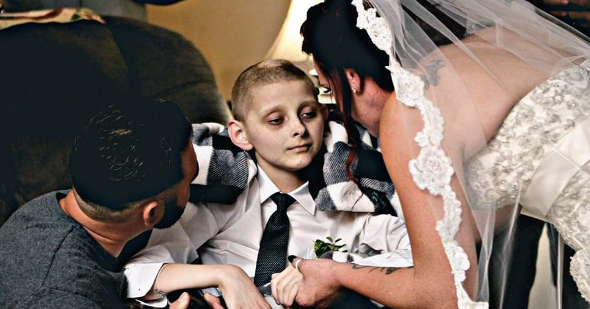 kourageous keith burkett died after walking mom down aisle