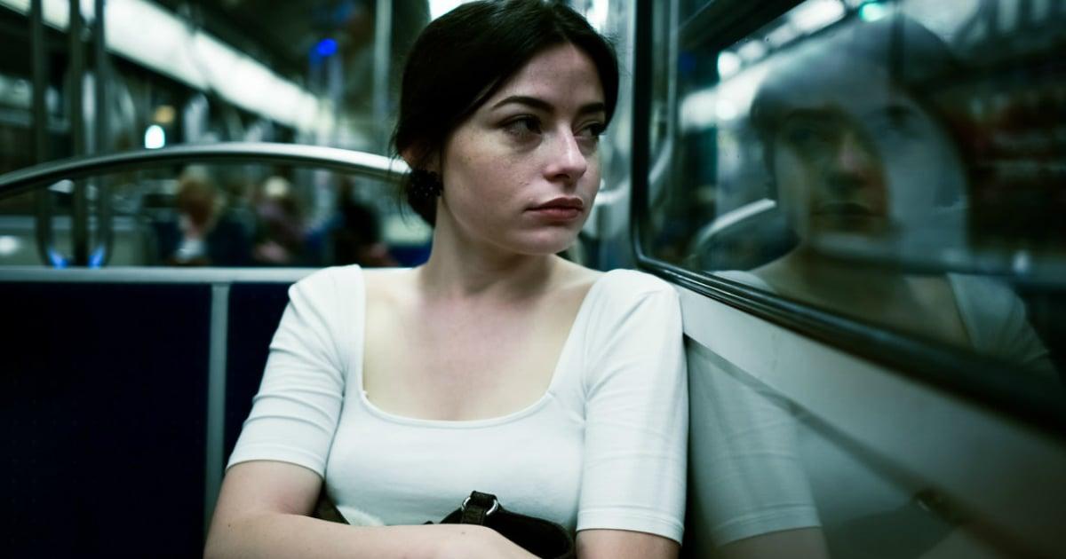 subway stranger saves woman from creepy guy fb