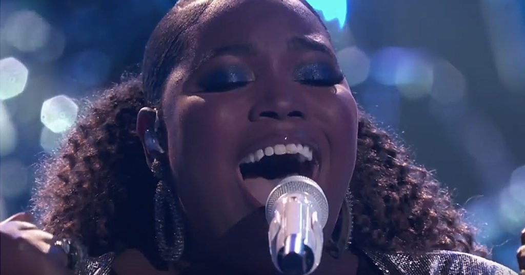 Kymberli Joye Worships On Live TV With 'Oceans' On The Voice