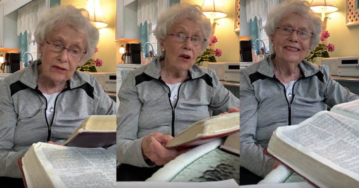 Elderly Woman Shares Powerful Message About Limiting God