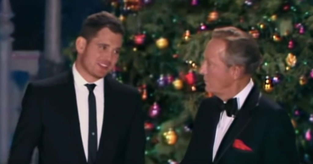 Michael Bublé Sings 'White Christmas' With Bing Crosby Thanks To Technology