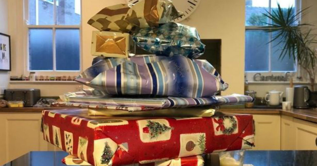 14 years worth of christmas presents left by elderly neighbor 2