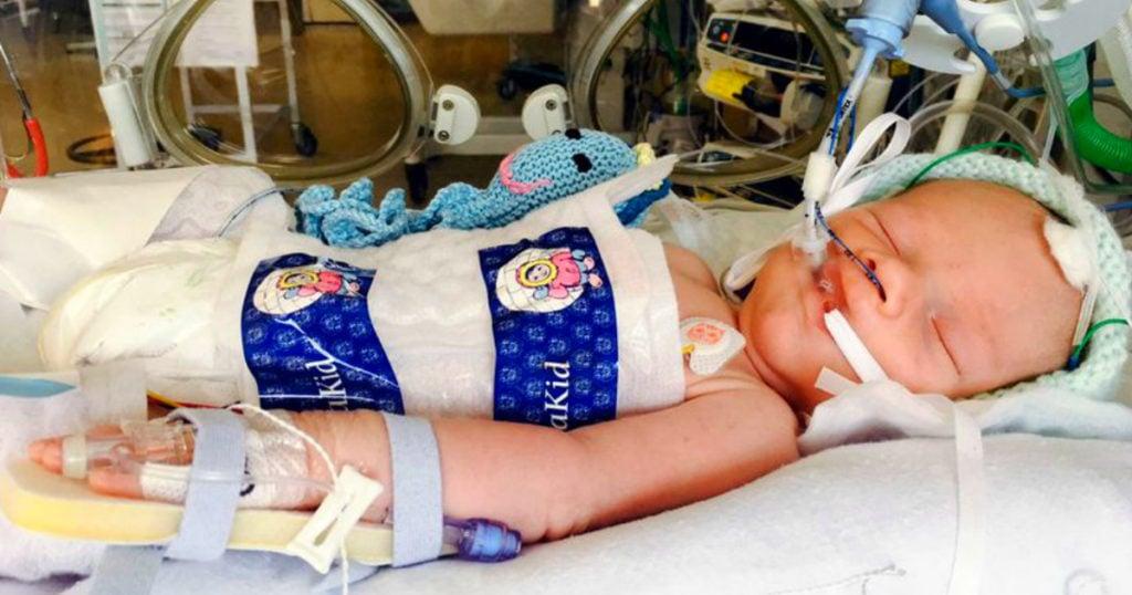 brain-dead baby miracle kaleb crook