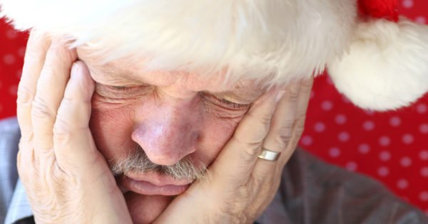 Grieving Widower Carries On Christmas Tradition Of Santa To Honor His Late Wife