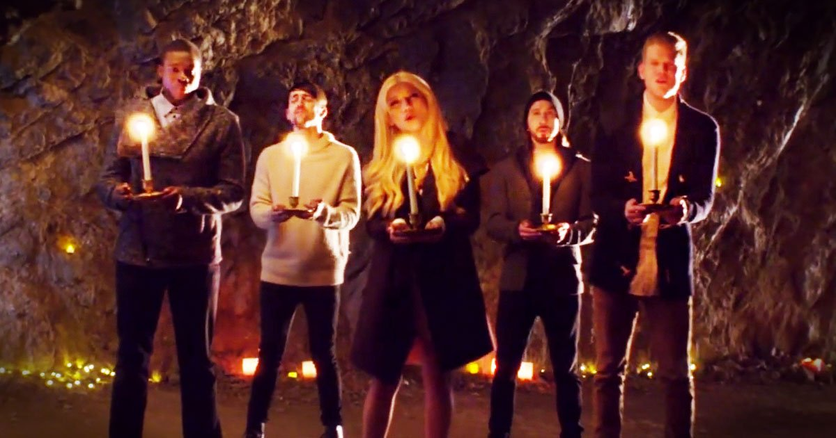 Pentatonix 'Mary Did You Know' A Cappella