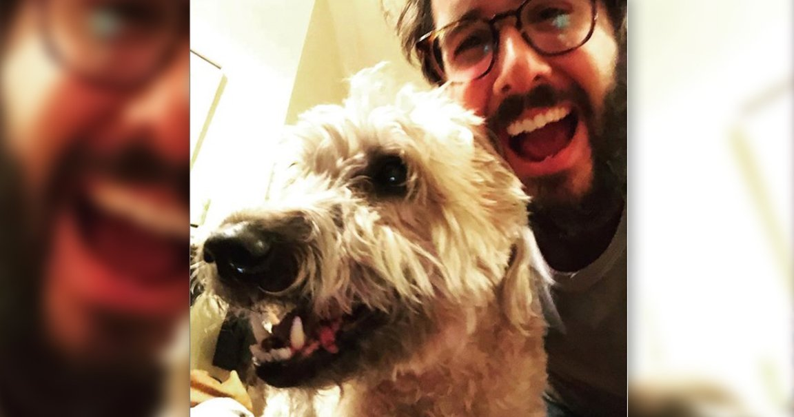 How Josh Groban Says Dog Saved Him from Terrorists
