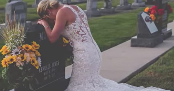 Bride Takes Wedding Photos Alone After Drunk Driver Kill Fiance