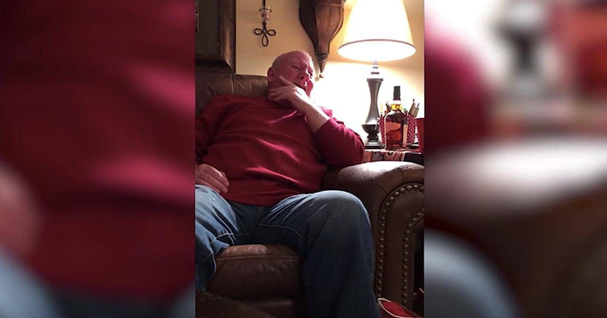 Granddaughter Surprises Grandpa With His Original Song