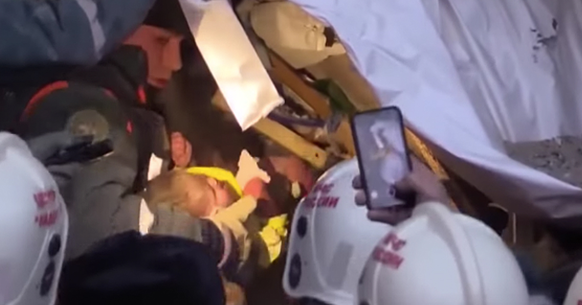 Miracle Baby Found Alive In Rubble After 35 Hours