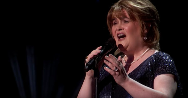 Susan Boyle Sings 'Wild Horses' to Win Golden Buzzer On America's Got Talent