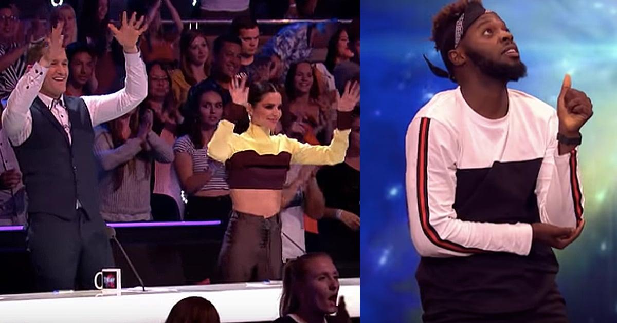 Deaf Dancer Gets Standing Ovation On British Dancing Competition