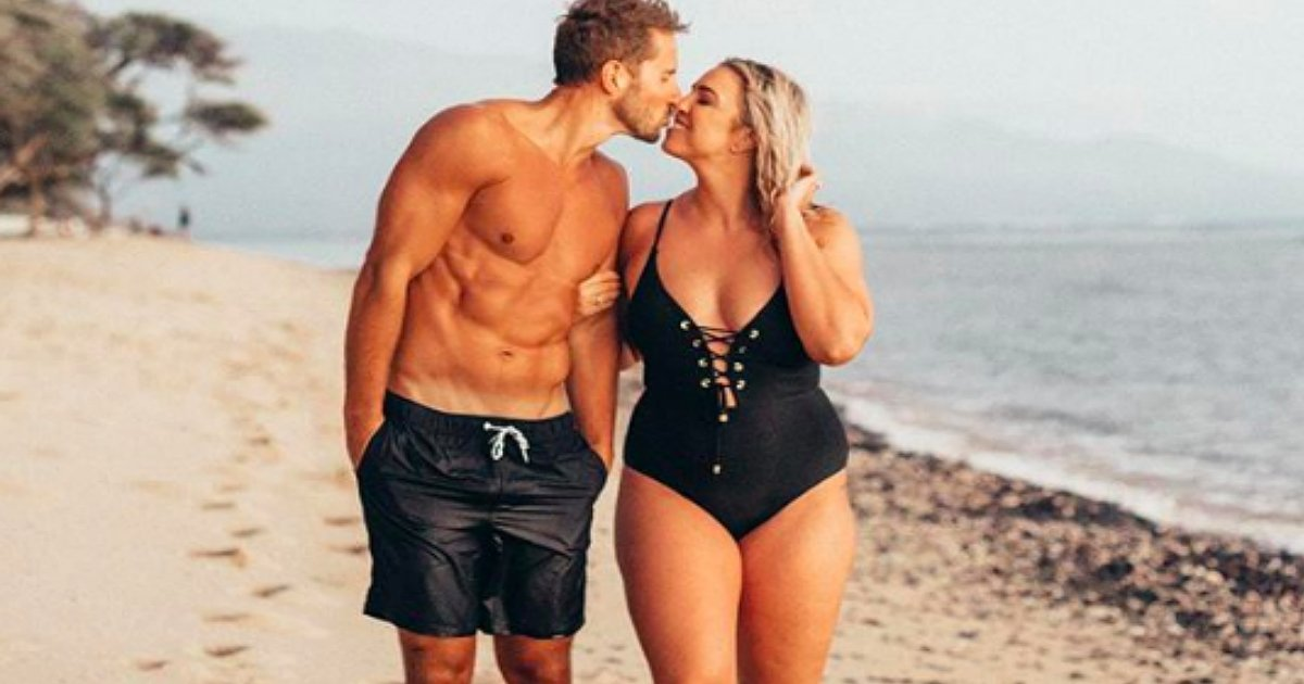 curvy wife body-shamed over handsome husband jenna Kutcher