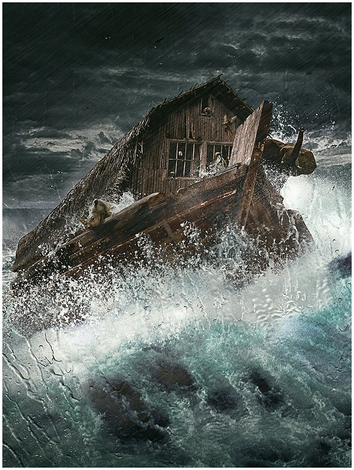 Noah's Ark Bible story questions for kids - The Great Flood