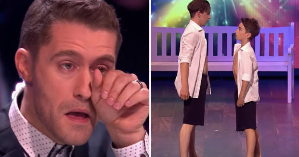 Judge On The Greatest Dancer Brought To Tears By Brotherly Contemporary Dance