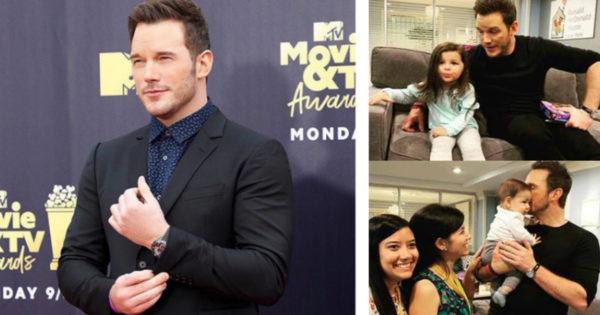 'Hug Your Babies': Chris Pratt's Advice After Visiting Children Battling Cancer