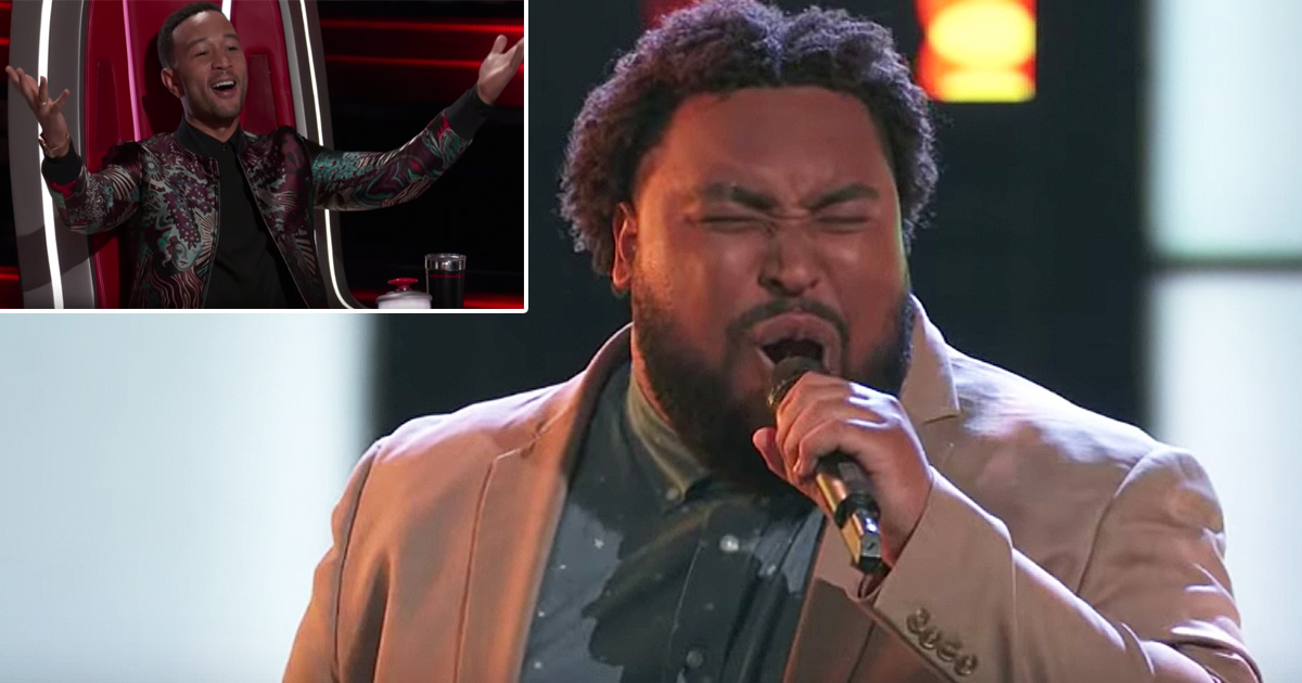 gospel song 'i smile' blind audition matthew johnson