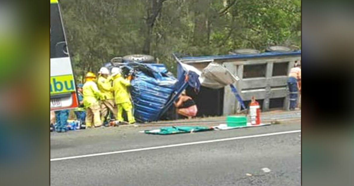 guardian angel held her hand after nightmare crash