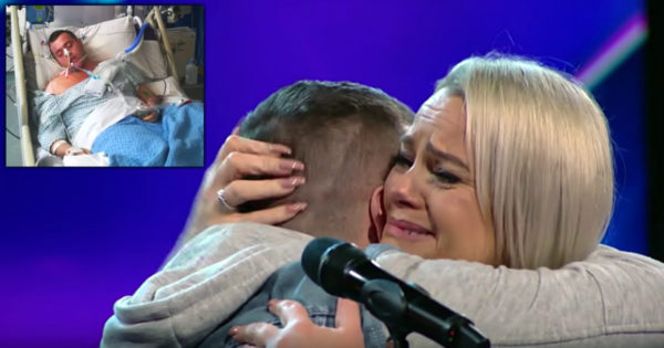 Mother And Son's Emotional Duet Earns Golden Buzzer On Ireland's Got Talent