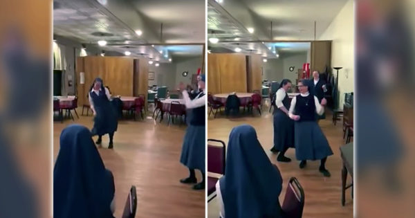 Nuns Dance To Queen's 'We Will Rock You'