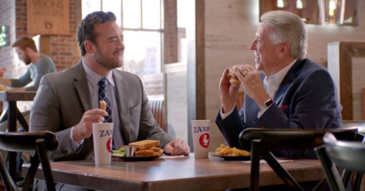 zaxby's 2019 super bowl ad takes shot at chick-fil-a