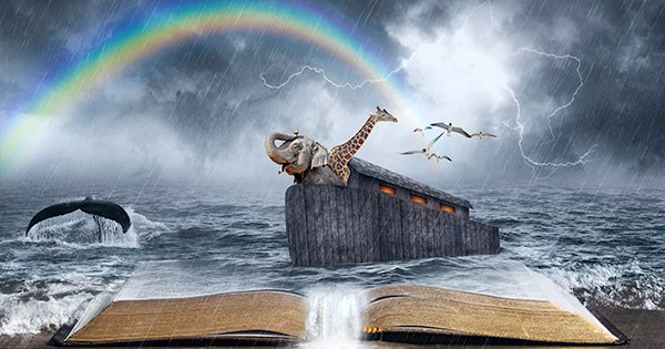 Noah's Ark Bible Story questions for kids and adults