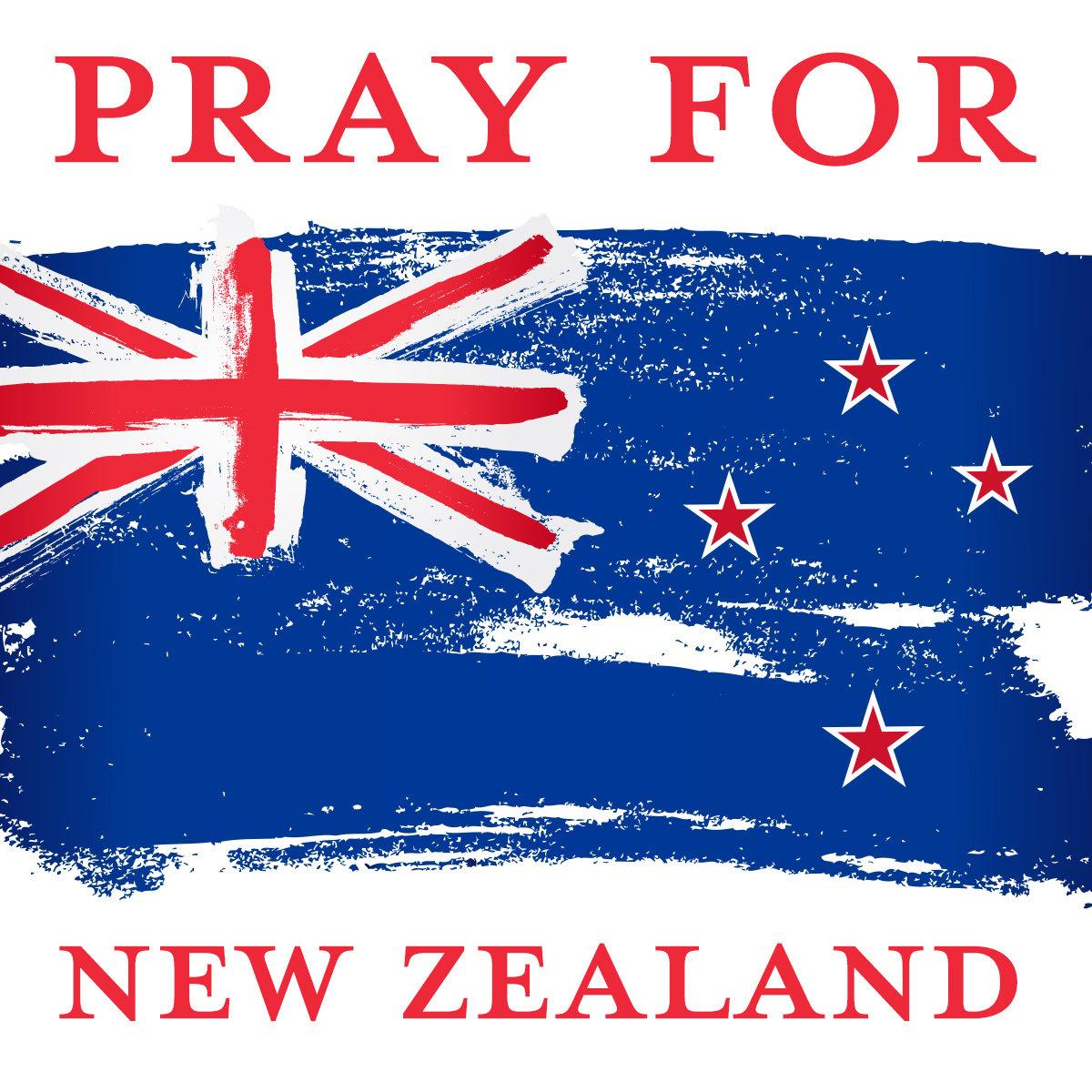 pray for new zealand