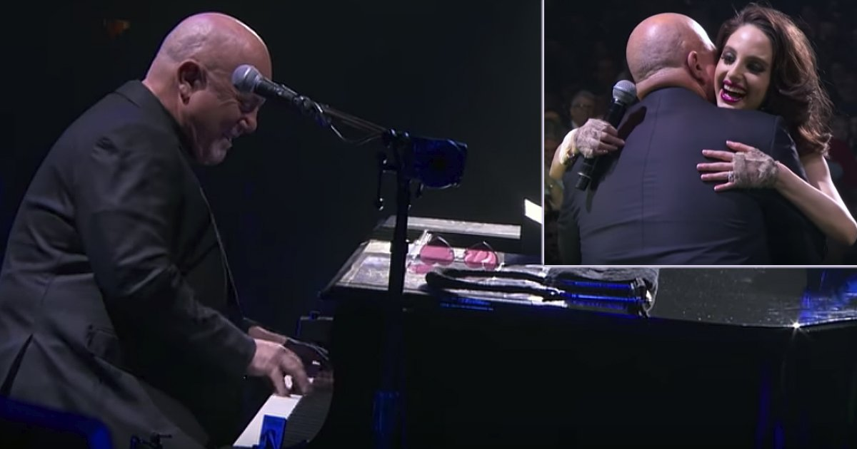 billy joel and daughter duet inspirational music video