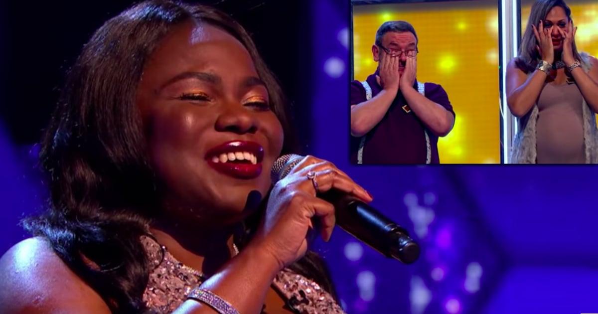 blind singer Victoria Oruwari inspiring music performance
