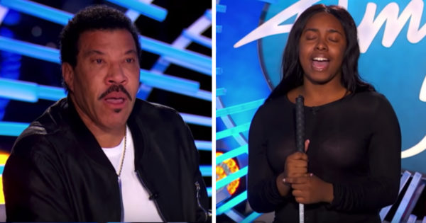 Blind Singer's Audition To 'Rise Up' Has Lionel Ritchie In Tears