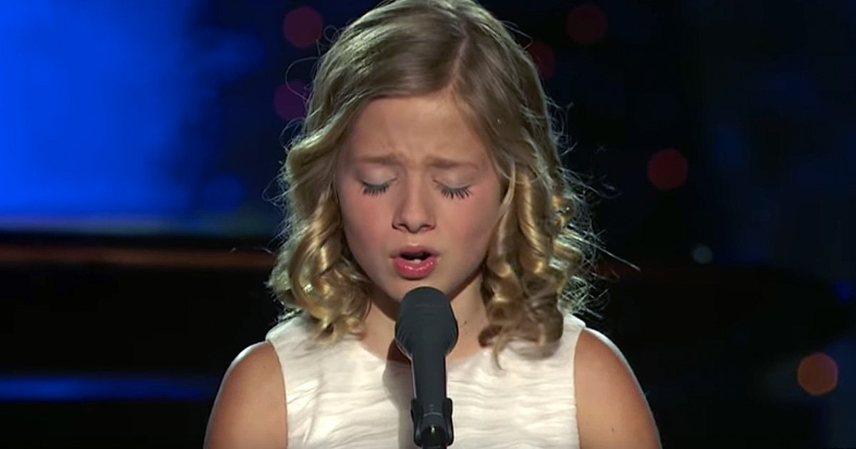 jackie evancho with 'the lord's prayer' inspiring music video
