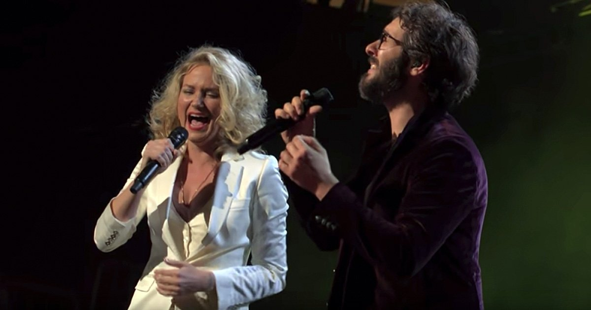 josh groban and jennifer nettles duet inspirational music video