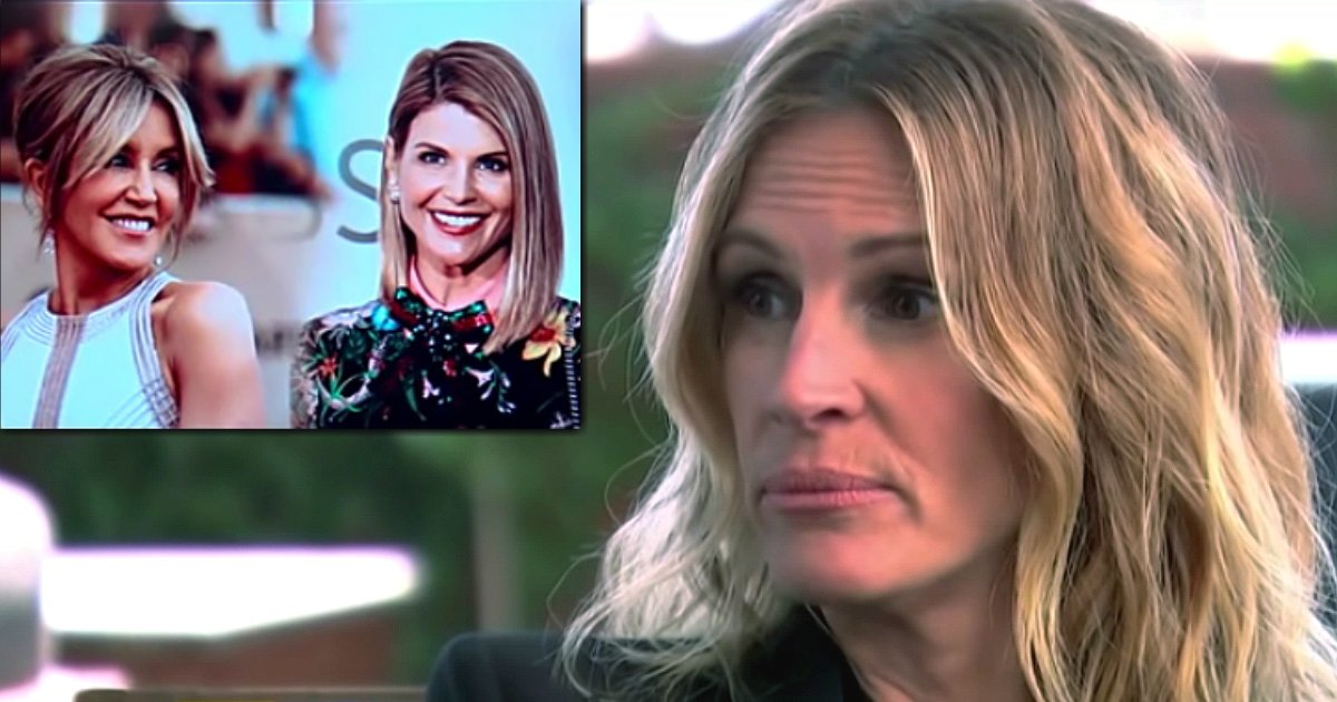 saddest part of the college admissions scam julia roberts