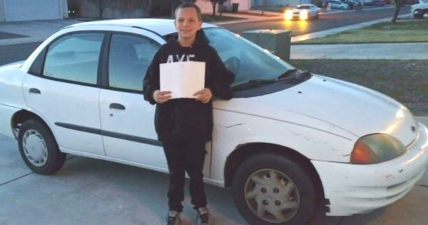 13-Year-Old Buys Car For His Single Mom At Her Lowest Point By Selling XBox
