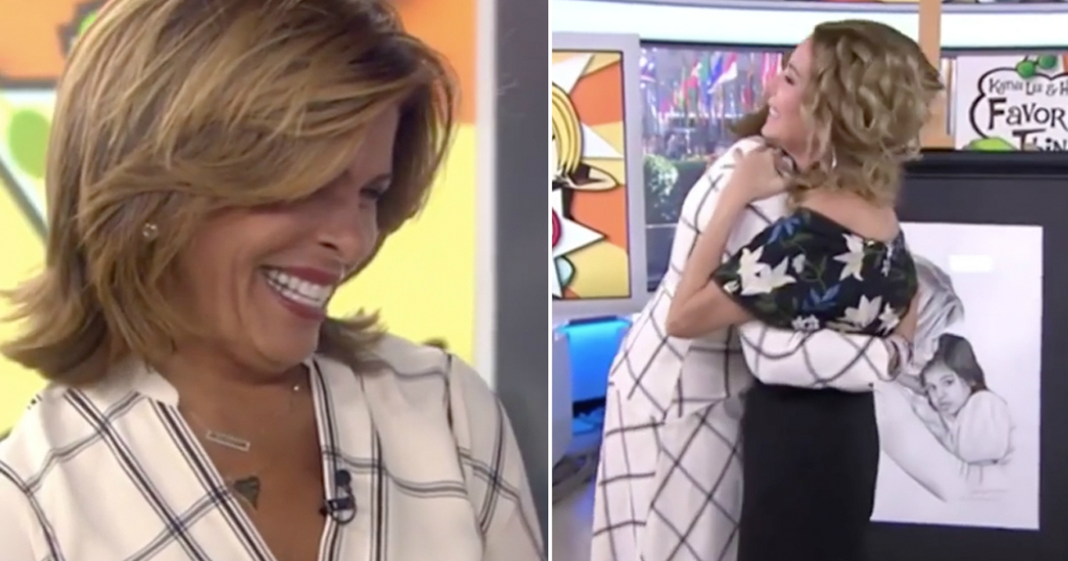 kathie lee gives hoda gift painting