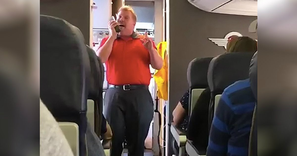 you raise me up sung by southwest airline worker for grieving mom
