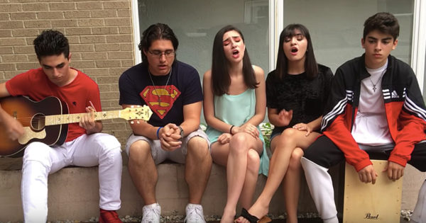 5 Musical Siblings Cover 'You Say' By Lauren Daigle