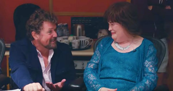 'A Million Dreams' Duet Sung By Susan Boyle And Michael Ball Is Dazzling
