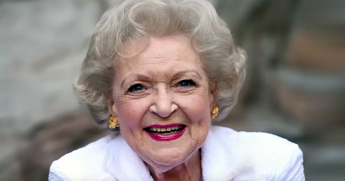 betty white age 97 secret to happy life