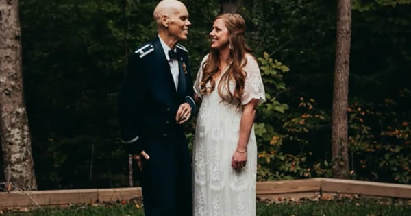 Bride Danced With Dying Dad In Lieu Of Engagement Photos