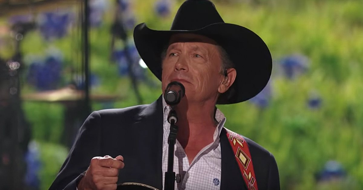 george strait performs god and country music live