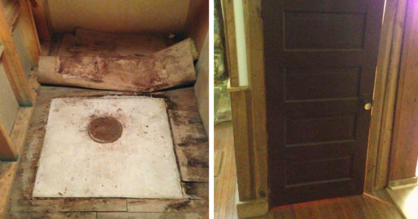 Hidden Treasure Uncovered By Grandson Under Stairs of Grandparents' Farmhouse