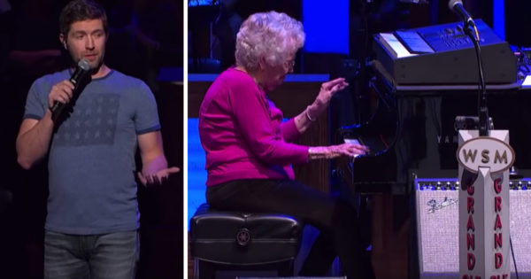 Josh Turner's Grandma-In-Law Wows Crowd With 'How Great Thou Art' At The Grand Ole Opry