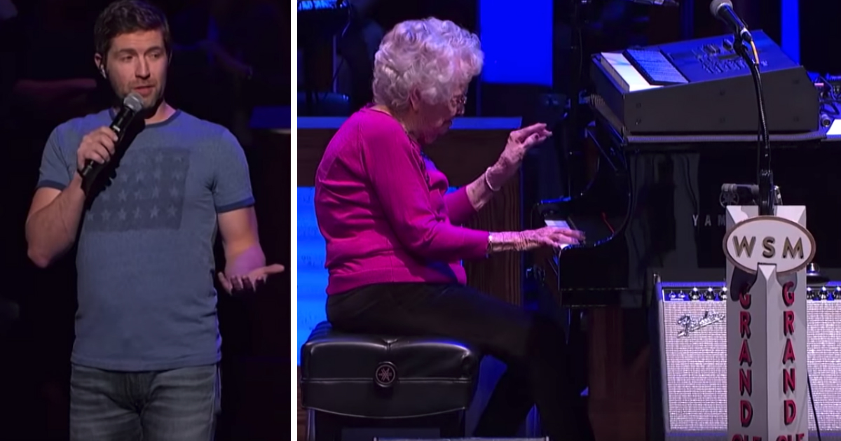josh turner's grandma-in-law how great thou art