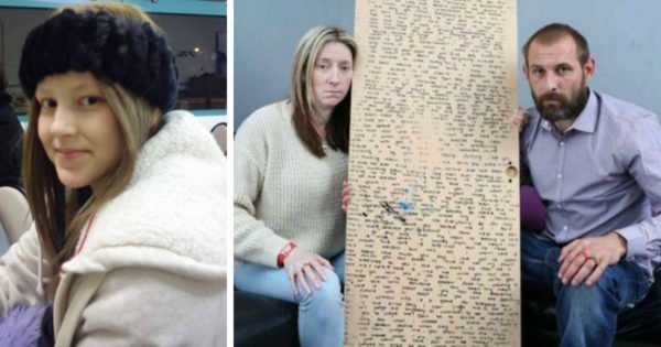Daughter's Secret Message Behind Mirror Discovered By Parents After She Dies