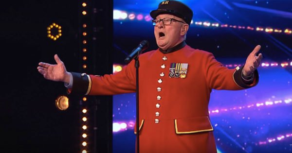 88-Year-Old War Veteran Sings 'Wind Beneath My Wings' For Late Wife On Britain's Got Talent