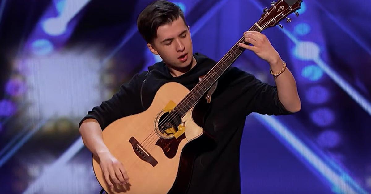 Guitarist Marcin Patrzalek
